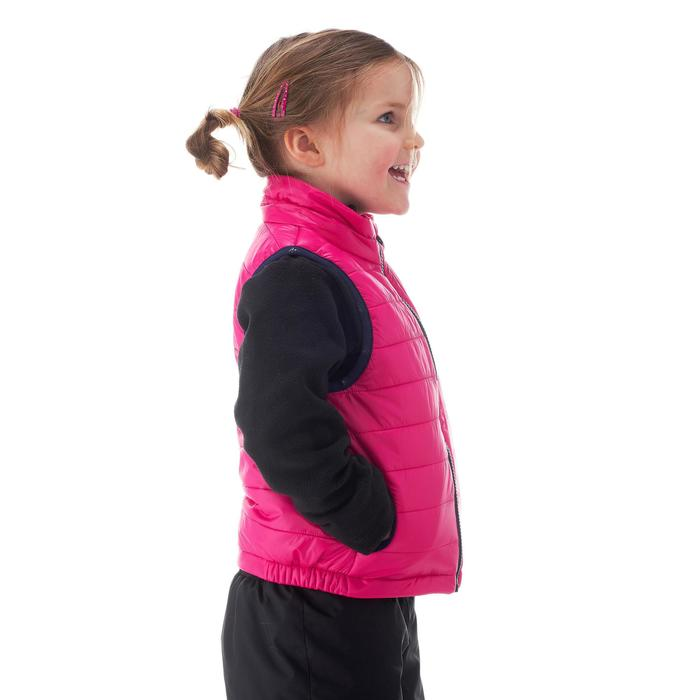 Wattierte Weste MH Kinder rosa
