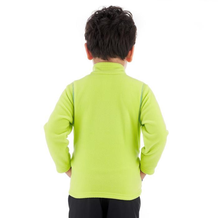 Fleecejacke Wandern MH150 Kleinkinder Jungen 89-122cm grün