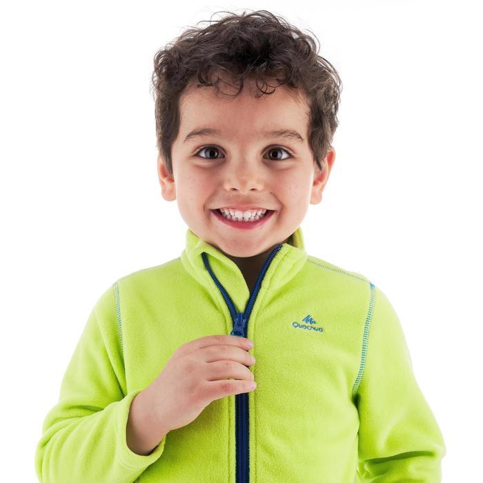Fleece vest voor wandelen kinderen MH150 groen 2-6 jaar