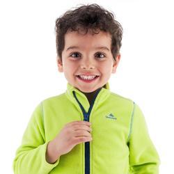 Forro polar de montaña niños 2-6 años MH150 verde