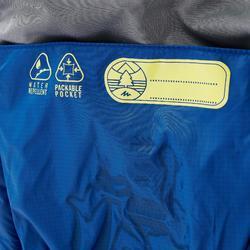 Gewatteerde bodywarmer voor wandelen kinderen MH500 blauw 2-6 jaar
