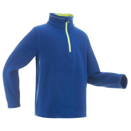 Children's age 2-6 hiking fleece MH100 - blue