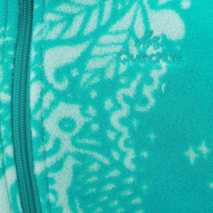 Wandelfleece voor kinderen MH120 turquoise