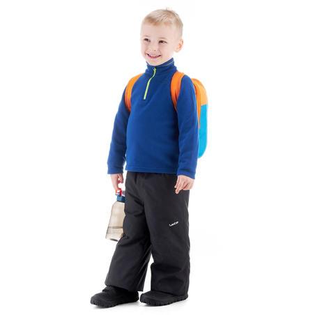 Fleece hiking anak usia 2-6 tahun MH100 - biru