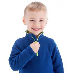 Wandelfleece voor kinderen MH100 blauw 2- 6 jaar