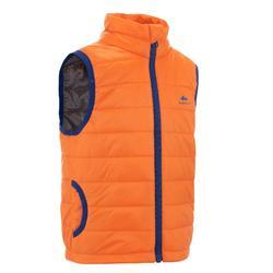 Gewatteerde jas MH voor kinderen oranje