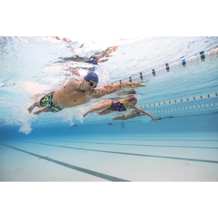 Lunettes de natation Suédoises BLANC MIROIR