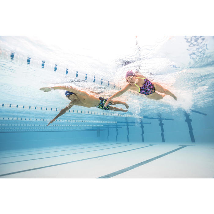 zwemkledij heren Jammer 500 First All Diago blauw geel