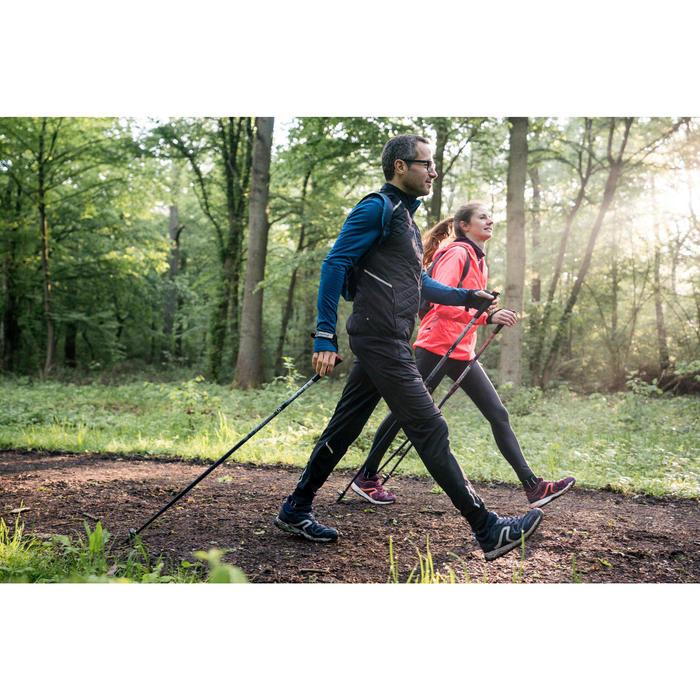 Nordic walking schoenen voor dames NW 500 pruim