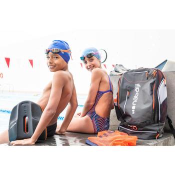 Lunettes de natation B-FAST noir orange miroir