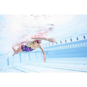 Lunettes de natation B-FAST noir rose - 1494872