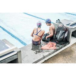 Gorro Natación Aguas Abiertas Nabaiji 500 Adulto Azul Estampado Silicona