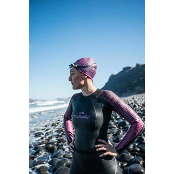 Lunettes de natation B-FIT  noir argent miroir - 1494885