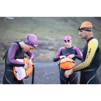 Gafas de natación B-FAST Negro Naranja espejo