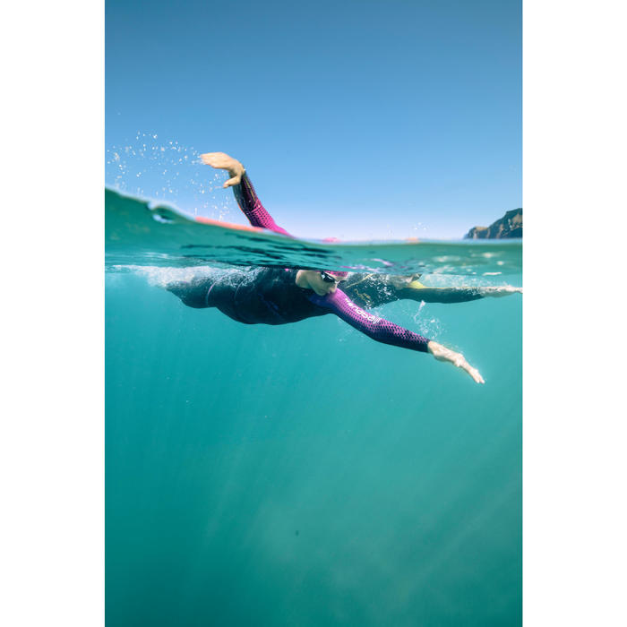 Combinaison natation néoprène OWS 900 4/2mm femme eau froide - 1494940