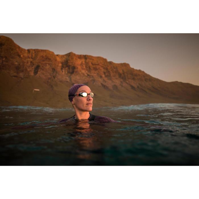 Lunettes de natation B-FIT  noir argent miroir - 1494945