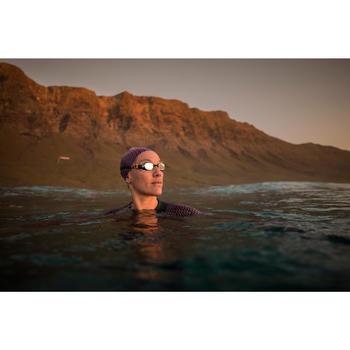 Zwembril 500 B-Fit getint glas wit/zwart