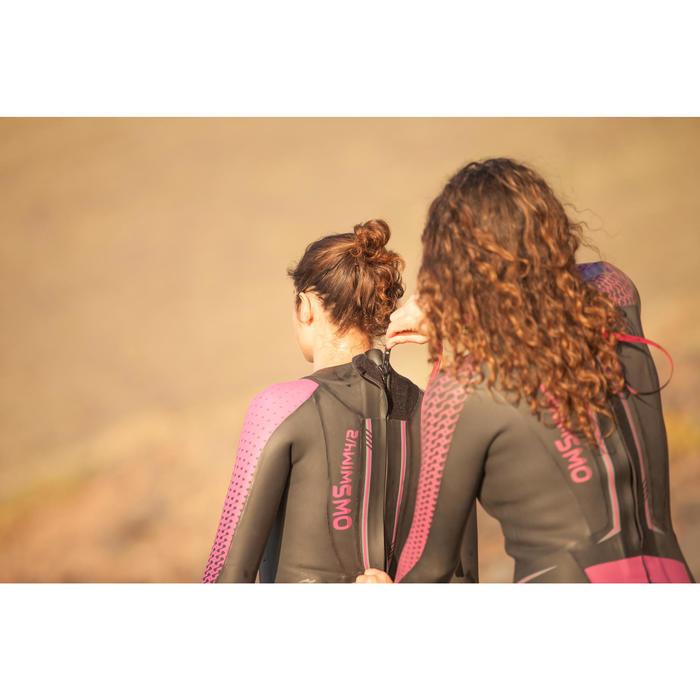 Combinaison natation néoprène OWS 900 4/2mm femme eau froide - 1494948