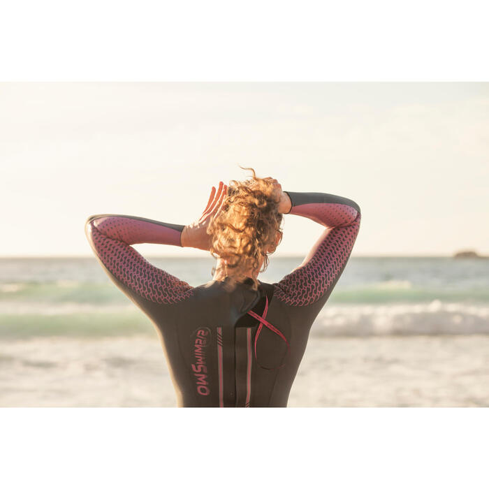 Combinaison natation néoprène OWS 900 4/2mm femme eau froide - 1494950