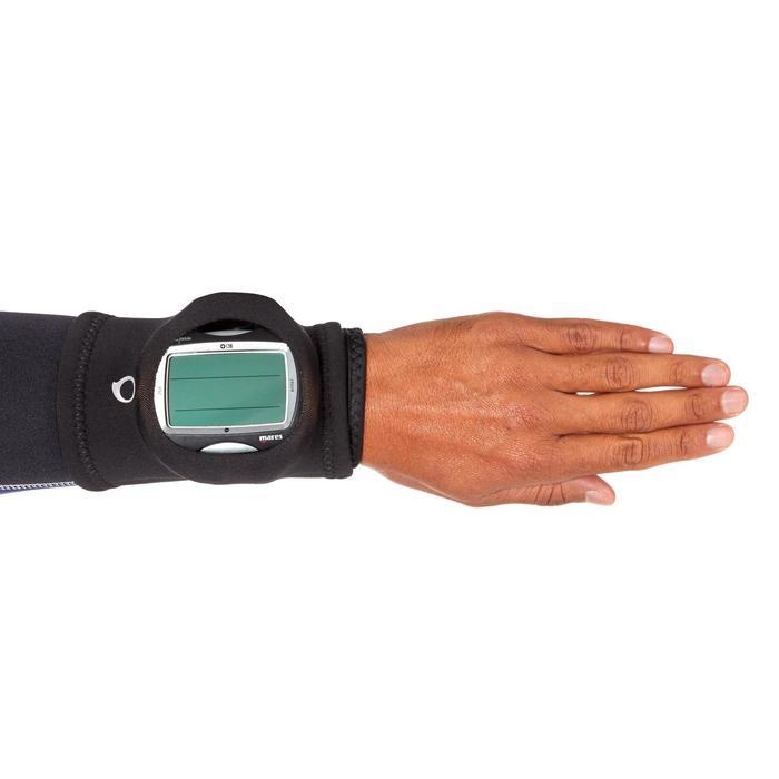 Manguito Protección Reloj Ordenador Buceo Subea Negro Neopreno