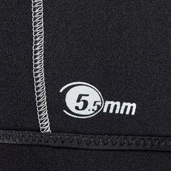 Overshorty voor heren voor duiksport SCD neopreen 5,5 mm
