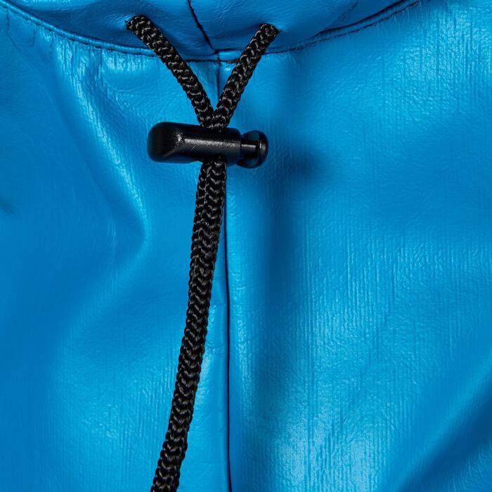Poncho cortaviento polar de buceo SCD azul