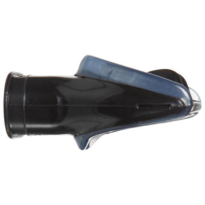 Embout de détendeur de plongée silicone bidensité noir - 1495067