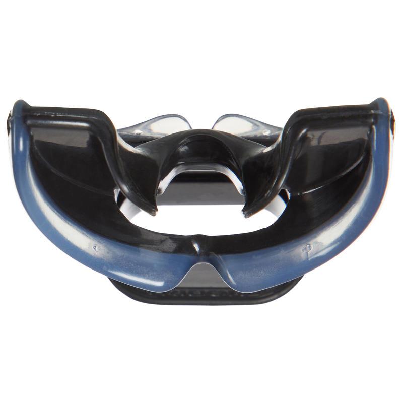 SCD dive regulator men's silicone bidensity mouthpiece L black