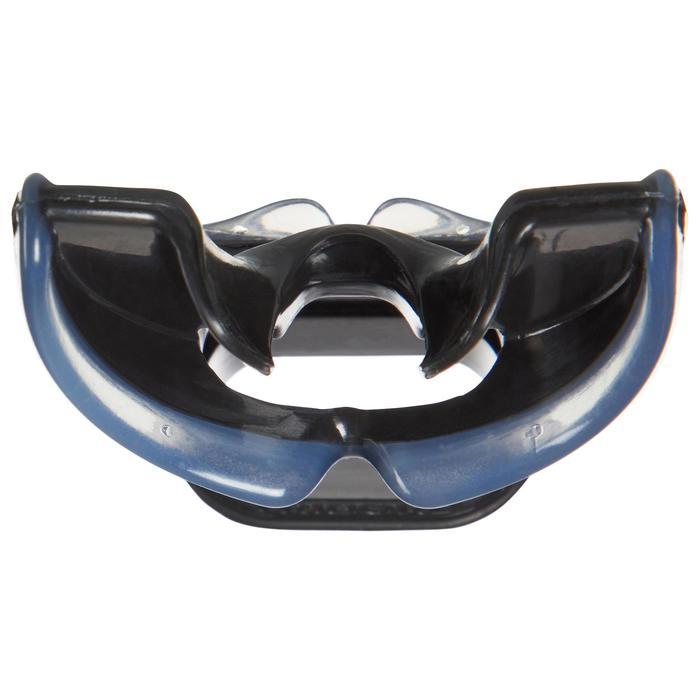 Embout de détendeur de plongée silicone bidensité noir