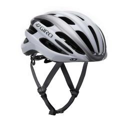 Racefiets helm Angon wit/grijs