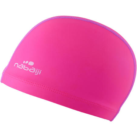 Silicone Mesh Swim Cap - Pink Purple