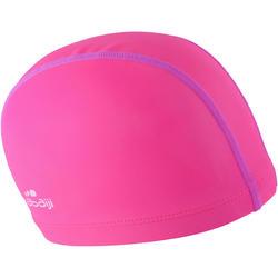 SWIM CAP SILICONE MESH Size SMALL - PINK