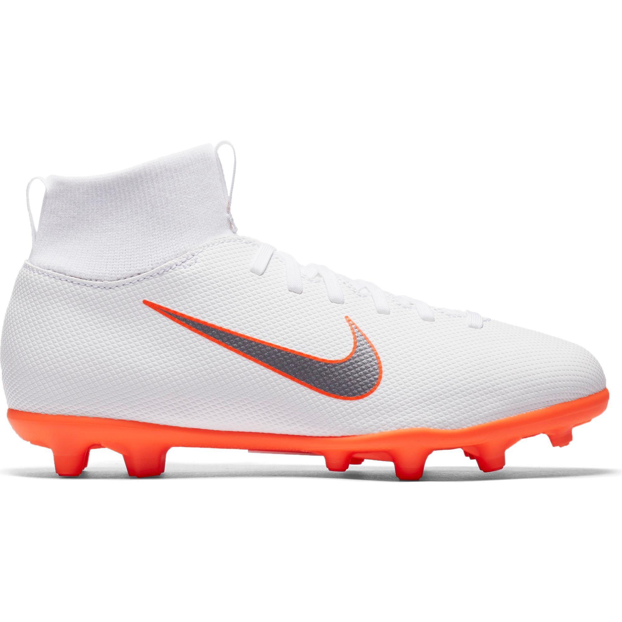 9746a550e02 Botas de Fútbol Nike Mercurial Superfly VI Club MG niños blanco