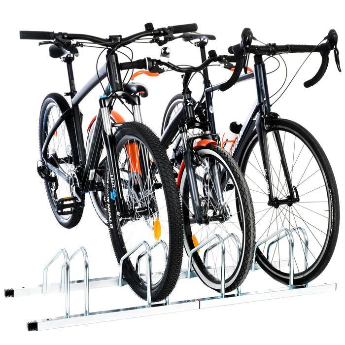 Modulair rek voor 2 fietsen