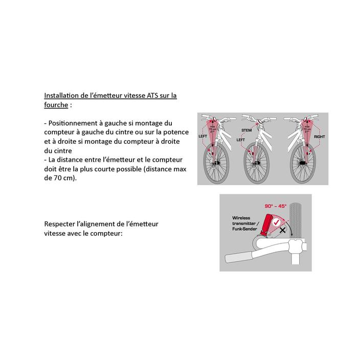 CUENTAKILÓMETROS CICLISMO BC 9.16 ATS - SIN CABLE SIGMA SPORT