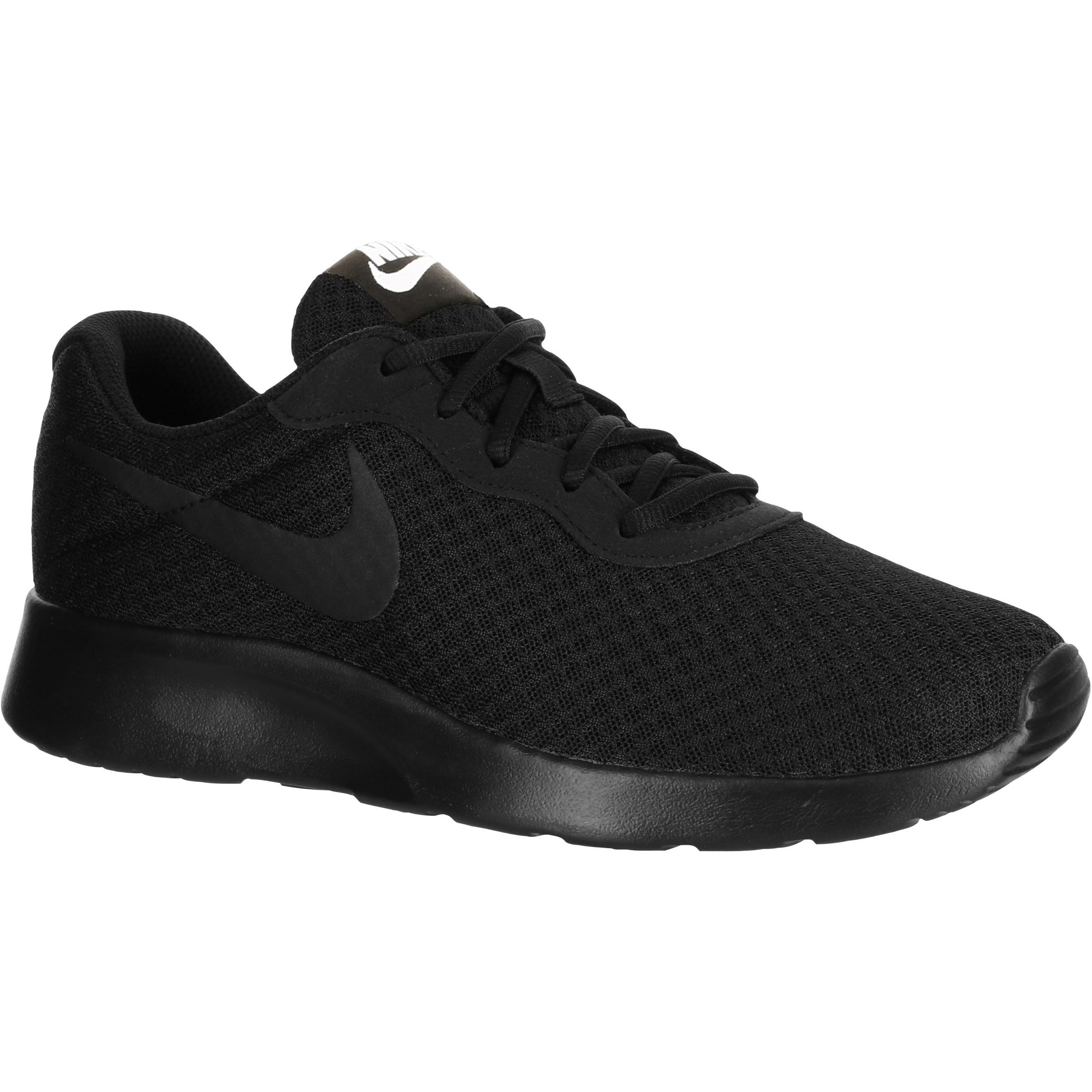 promo code 425f3 fbc65 Zapatillas de marcha deportiva para mujer Tanjun negro Nike   Decathlon