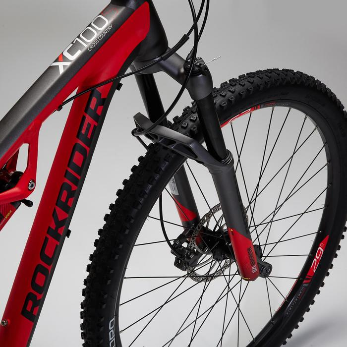 """VTT XC 100 S 29"""" noir et rouge - 1495135"""
