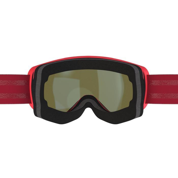 MASQUE DE SKI ET DE SNOWBOARD FEMME ET FILLE G 520 BEAU TEMPS ROSE