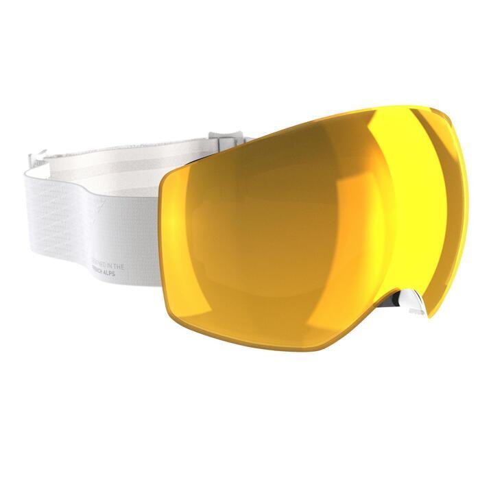 Ski- en snowboardbril voor kinderen en volwassenen G 520 I wit