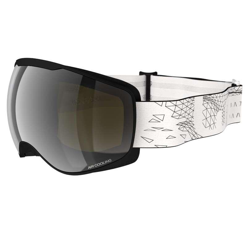 Măști schi/snowboard Schi si Snowboard - Ochelari schi G 900 S3 Negru  WED'ZE - Echipament pentru schi