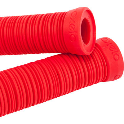 RED FREESTYLE BAR GRIPS