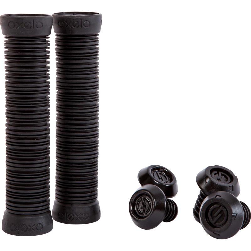 Guminės rankenos akrobatiniam važiavimui – juodos