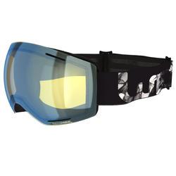 Ski- en snowboardbril volwassenen en kinderen G 520 PH zwart