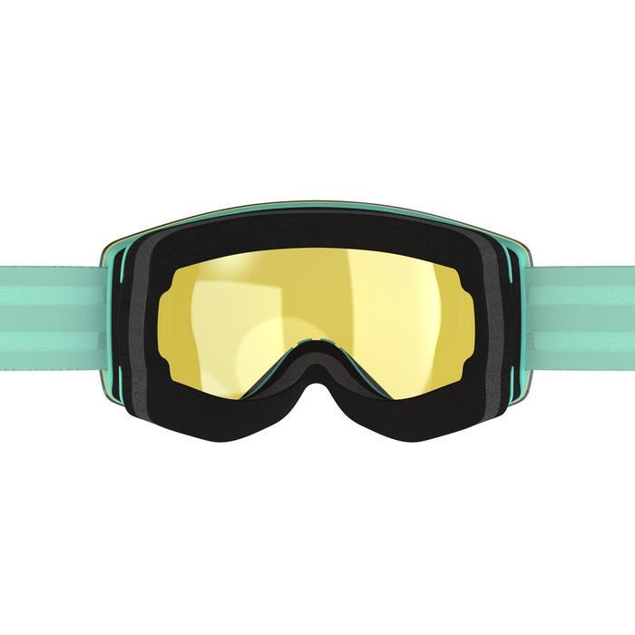 MASQUE DE SKI ET DE SNOWBOARD ADULTE ET ENFANT G 520 PH VERT