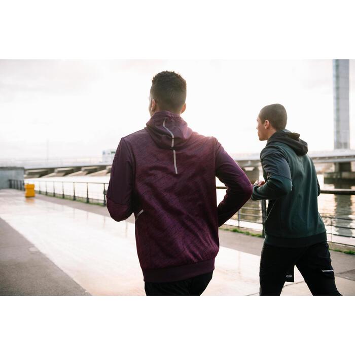 CHAQUETA RUNNING HOMBRE RUN WARM+ VERDE