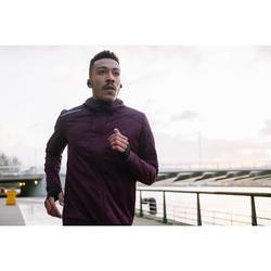 CHAQUETA RUNNING HOMBRE RUN WARM+ CIRUELA
