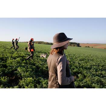 Sombrero Caza Solognac 500 Mujer Fieltro Marron
