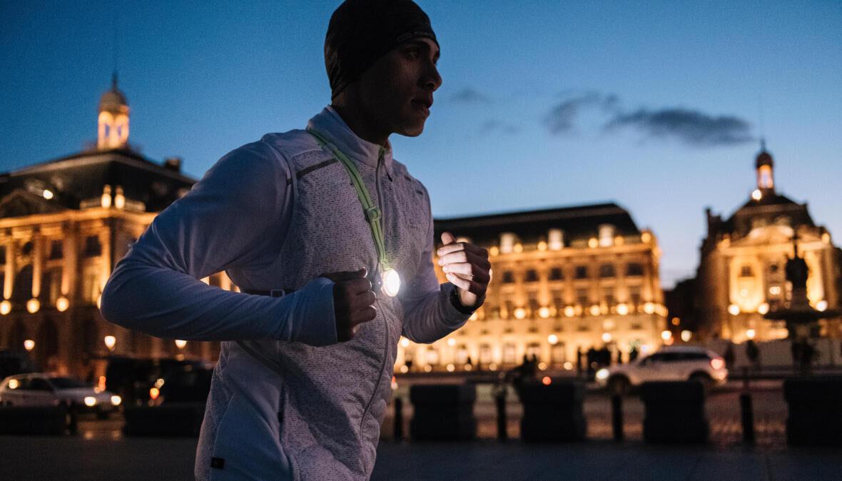 Löpning på natten: Förena nöje med säkerhet