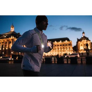 Hardloopshirt met lange mouwen voor heren Run Warm wit - 1495334