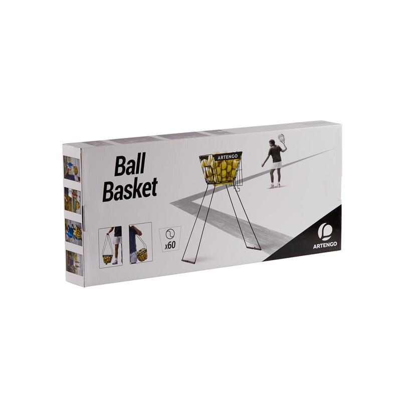meilleure qualité acheter plusieurs couleurs Sets / equipements - Tennis Ball Basket - Black